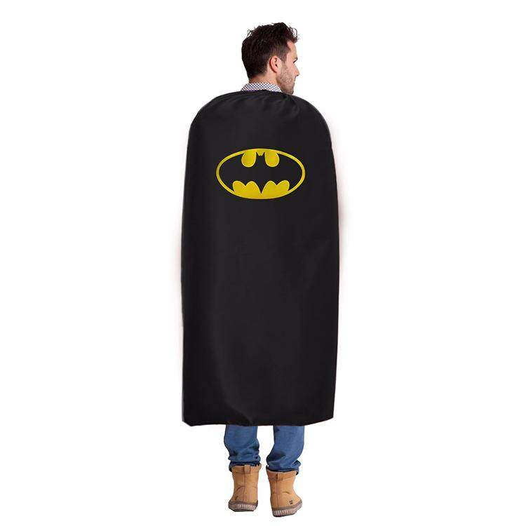 Adult Bat man Dress Up Costume with mask