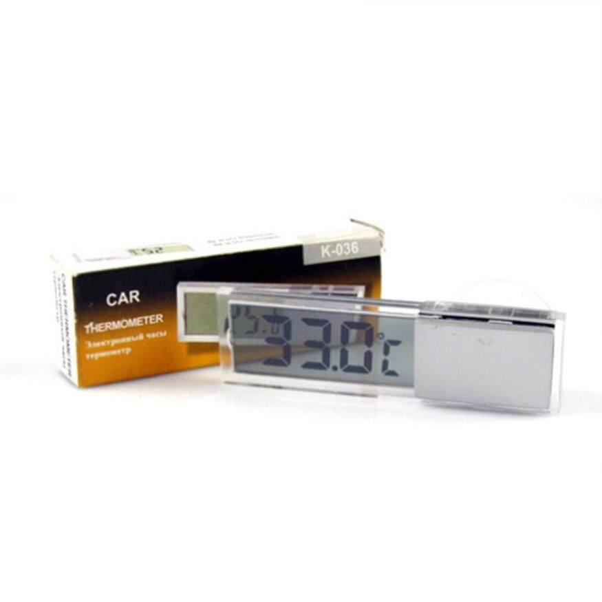 Top Deal Desain Pengisap LCD Termometer Digital Mobil Selsius Fahrenheit Sensor Eksternal