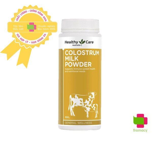 Sữa non Healthy Care Colostrum Milk Powder, Úc (300g) tăng cường sức đề kháng, tiêu hóa cho trẻ từ sơ sinh, người già nhập khẩu