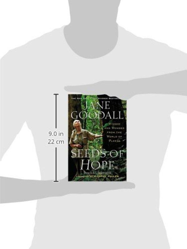 BORDERS Seeds of Hope: Wisdom and Wonder from the World of Plants Paperback  by Jane Goodall  (Author), Gail Hudson (Author), Michael Pollan (Introduction) Malaysia