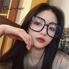 Kính Quang Học Thời Trang Isummer Nữ Bảo Vệ Bức Xạ Phiên Bản Hàn Quốc Kính Vuông Thời Trang