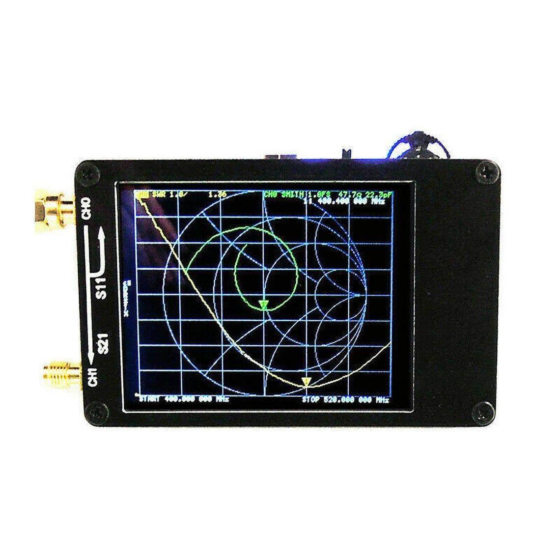 Best Discount NanoVNA 50KHz-900M HzVector Network Analyzer Assorted Kit Build In Batery