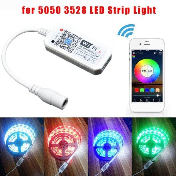 Bộ Điều Khiển RGB WiFi Thông Minh BGS Độ Sáng Và Thay Đổi Màu Sắc Với Lệnh Thoại Và Điều Khiển Ứng Dụng, Đèn LED Dây Cho Alexa