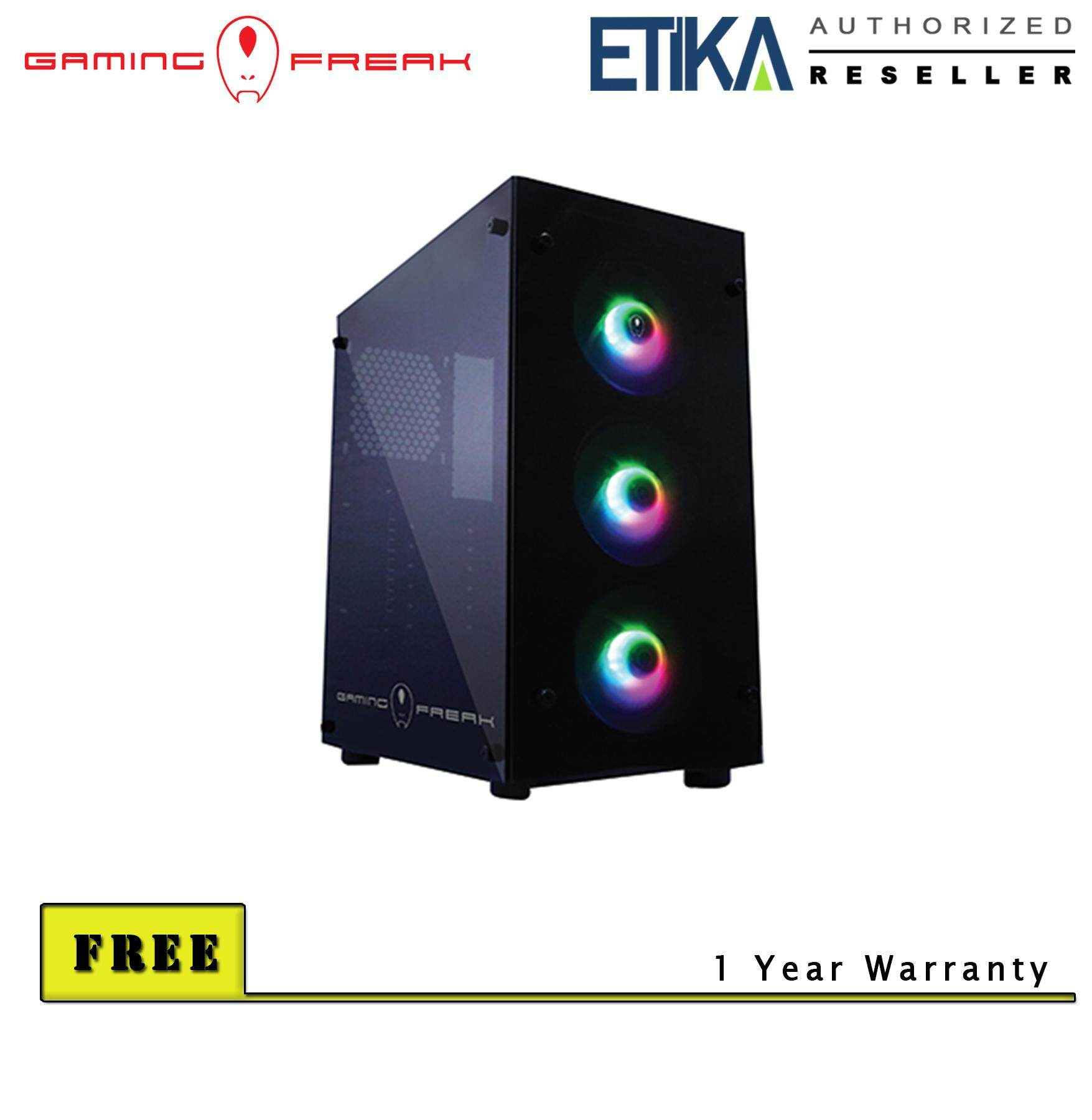 Gaming Freak 80G Ghost Gaming Tower Chassis Malaysia