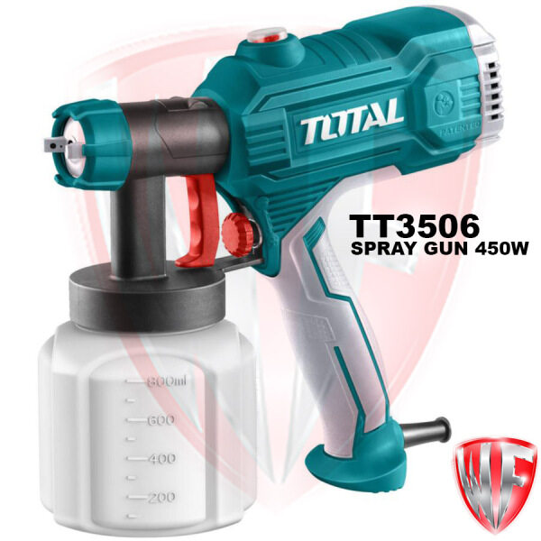 TOTAL TT3506 SPRAY GUN 450W For Painting Spraying Disinfectants (SIX MONTHS WARRANTY)