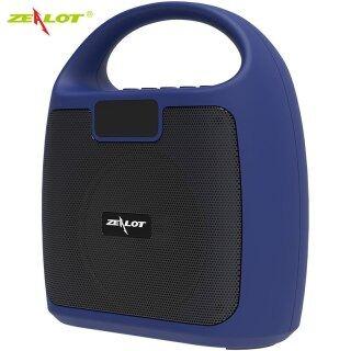 ZEALOT S42 Loa Bluetooth Công Suất Cao Cột Di Động Âm Thanh Nổi Siêu Trầm Cho Loa PC Máy Tính Với Đài FM BT AUX Usb TF thumbnail