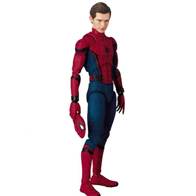 The Marvel Legends Spiderman Super Hero The Homecoming Ver Spider-man Action Figure MAFEX 047