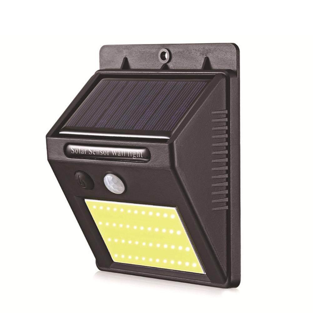 Waterproof Moistureproof Garden Solar Powered Street PIR Motion Sensor Wall Light Outdoor Night