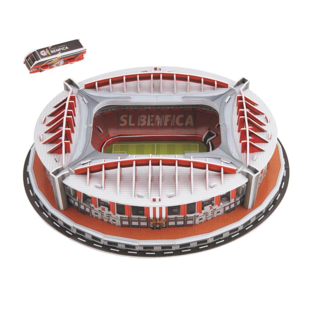 BolehDeals 3D Puzzle Different Countries Football Field Model Benfica stadium
