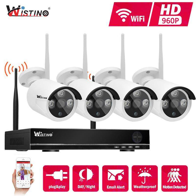 Wistino Hd 960p Nvr Kit Plug And Play Wireless 4ch Hdmi Cctv System Kit P2p Outdoor Ir Leds Night Vision Security Ip Camera Wifi By Wistino Store.