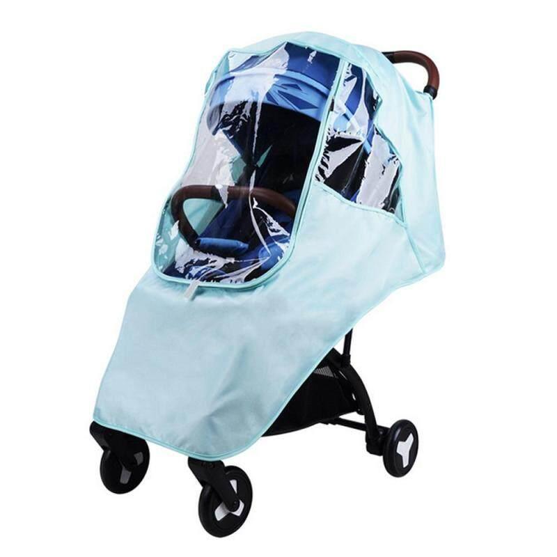 OEM Rain Cover Universal Size Elastic Band Nano Coating Waterproof Windproof Breathable Stroller Weather Shield Singapore