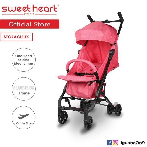 SWEET HEART PARIS- STGRACIEUX COMPACT BABY STROLLER