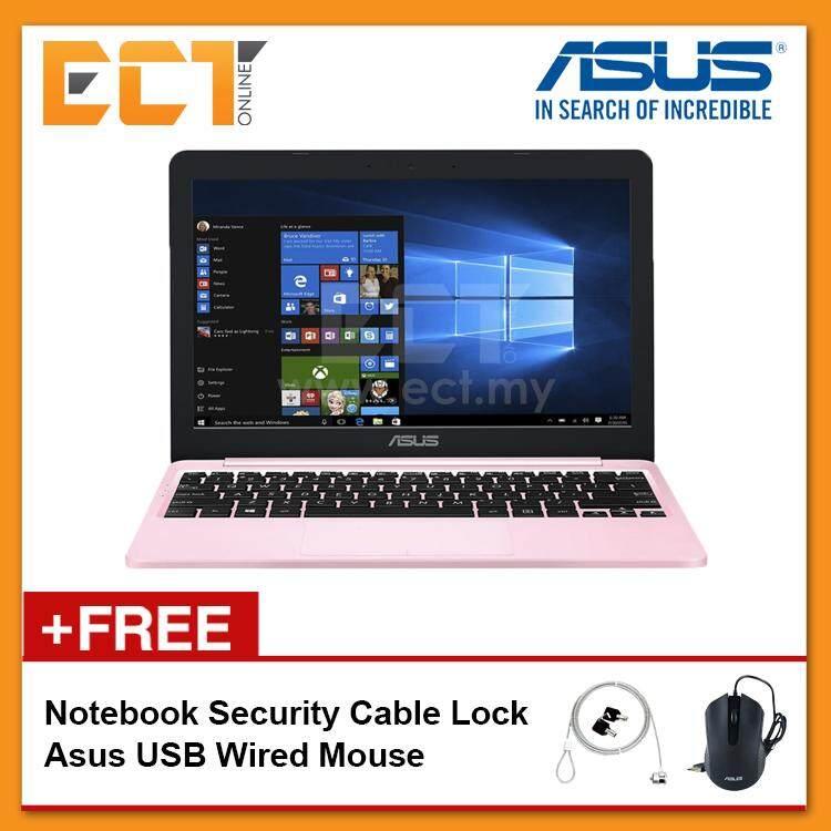 Asus Vivobook E203M-AHFD018/411T Laptop (N4000 2.60Hz,500GB,4GB,Intel,11.6,W10) - Pink/Grey Malaysia
