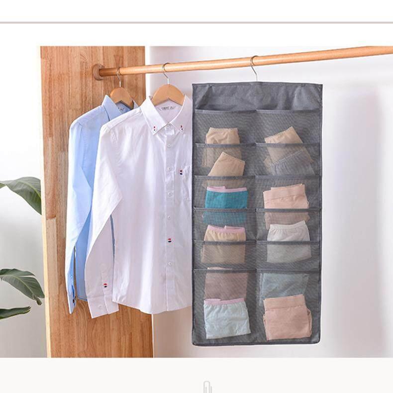 Underwear Sock Bra Hanging Storage Organizer Oxford Material