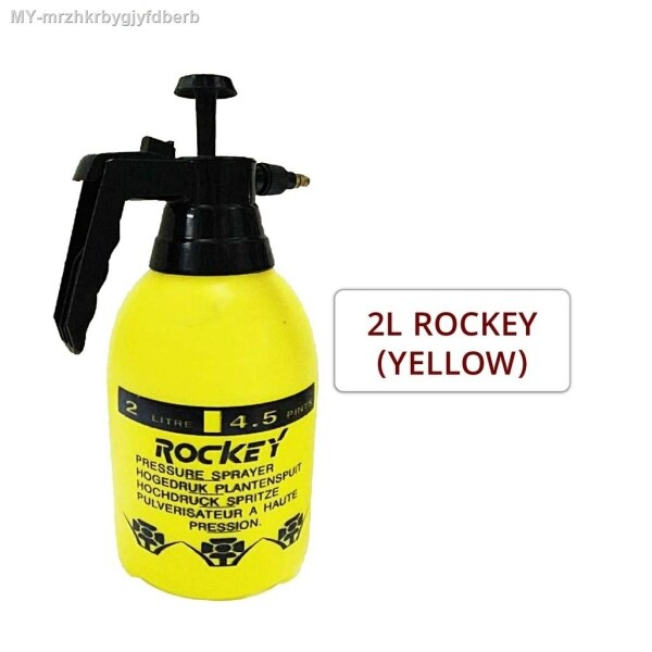 QuickFix 1L   2L Manual Pressure Sprayer Garden Water Pump Portable Spray Penyembur Pam Baja Air Botol Spray Bunga