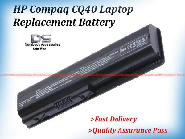 HP Compaq CQ40 HSTNN-UB72  Battery / HP CQ40 Battery Malaysia