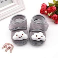 Đôi giày đế mềm ấm áp cho bé gái sơ sinh (có nhiều màu khác nhau) – INTL