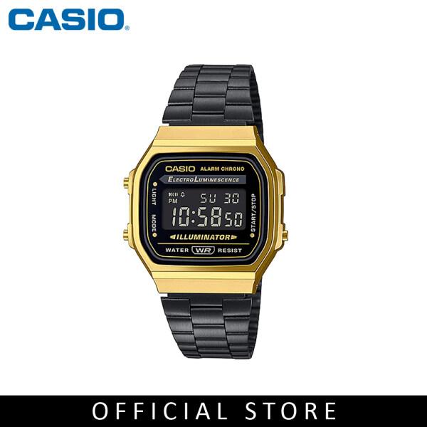 Casio General A168WEGB-1B Black Resin Band Men Watch Malaysia