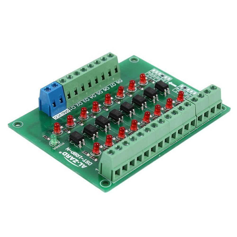 8-Channel 8bit Photoelectric Isolation Module PNP Output PLC Signal Converter