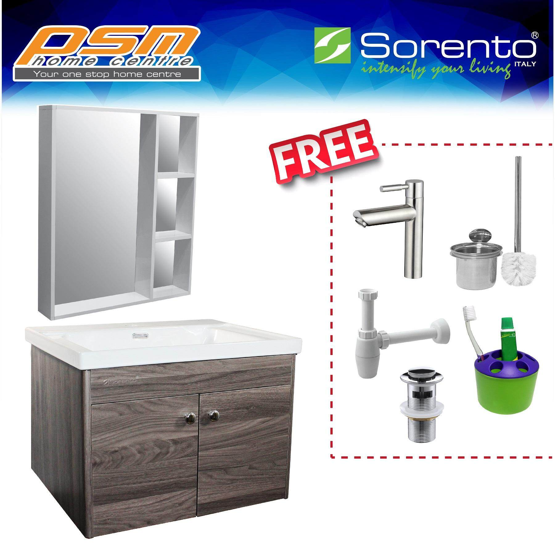 SORENTO Stainless Steel 304 Material Bathroom Basin Cabinet Package SRTBF11606