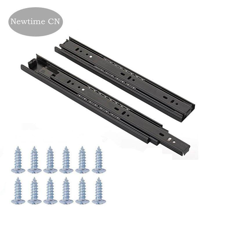 Full Extension Less Noise Ball Bearing Drawer Slides, 10 - 12, 1-Pair