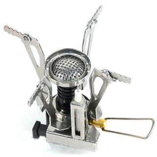 Ultralight Backpacking Canister Camp Stove with Piezo Ignition 3.9oz thumbnail