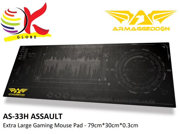 ARMAGGEDDON AS-33H ASSAULT EXTRA LARGE GAMING MOUSEPAD MOUSE PAD MOUSEMAT (79CM x 30CM x 0.3CM) Malaysia