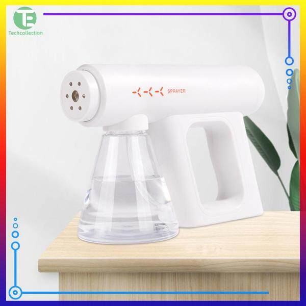 Multifunctional Handheld Mosquito Repellent Disinfection Sprayer Blue Light Home Atomization Tool Singapore