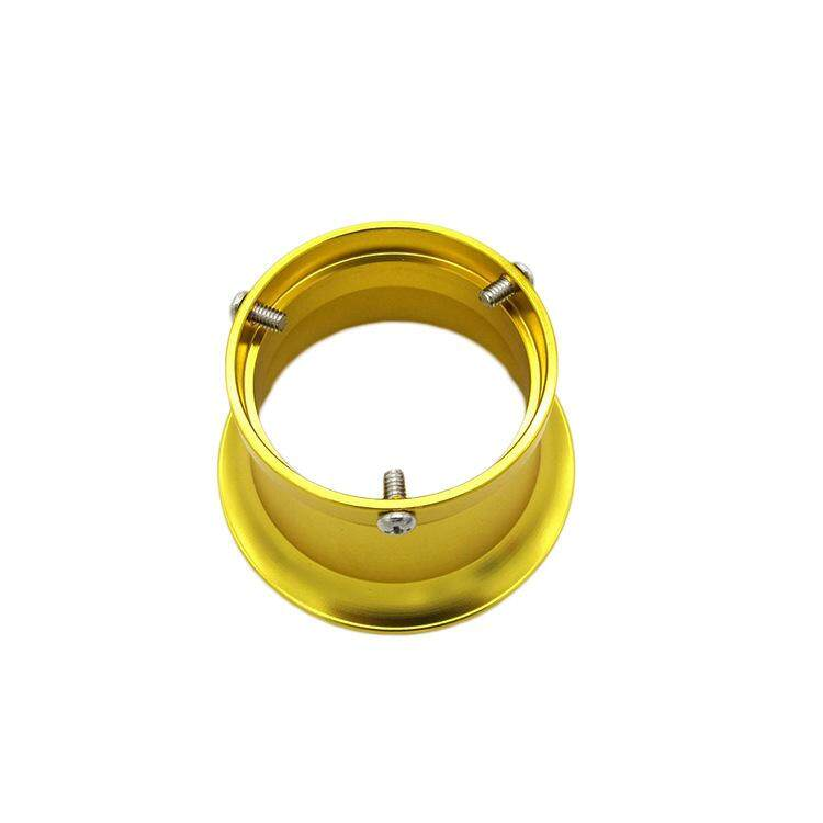Pl Gold 50mm Air Filter Interface Cup For 24 26 28 30mm Motorcycle Carburetor