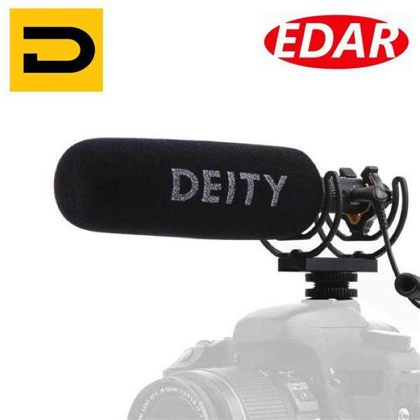 Deity Microphones V-Mic D3 Pro Supercardioid On-Camera Shotgun Microphone With Rycote Lyre Suspension By Foto Edar.