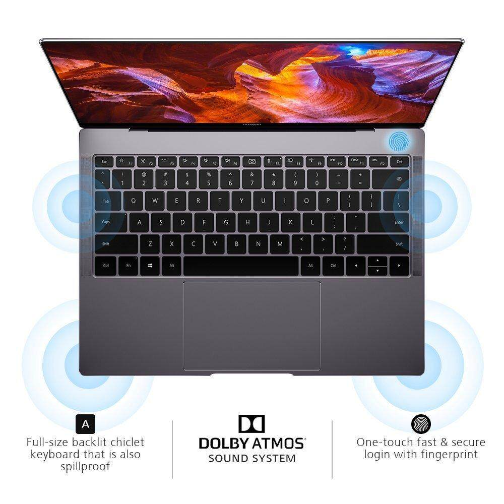 Huawei MateBook X Pro Signature Edition Thin & Light Laptop, 13.9  3K Touch, 8th Gen i7-8550U, 16 GB RAM, 512 GB SSD, GeForce MX150, 3:2 Aspect Ratio, Office 365 Personal, Space Gray Malaysia