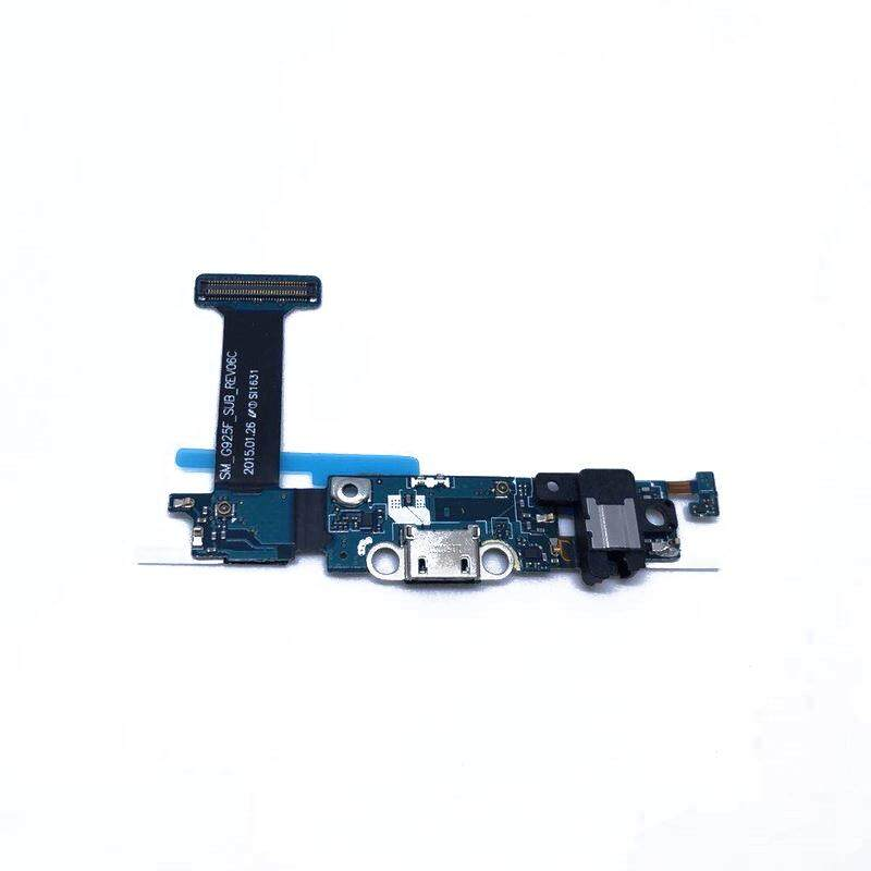 Original Parts For Samsung Galaxy S6 G920F G920FD G920FQ G920I G920A G920T  Charger Charging Port USB Port Flex Cable