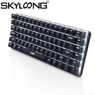 Skyloong SKYLOONG AK33 82 Phím Bàn Phím Cơ, Công Tắc Chơi Game Có Dây Dành Cho Máy Tính Để Bàn PC thumbnail