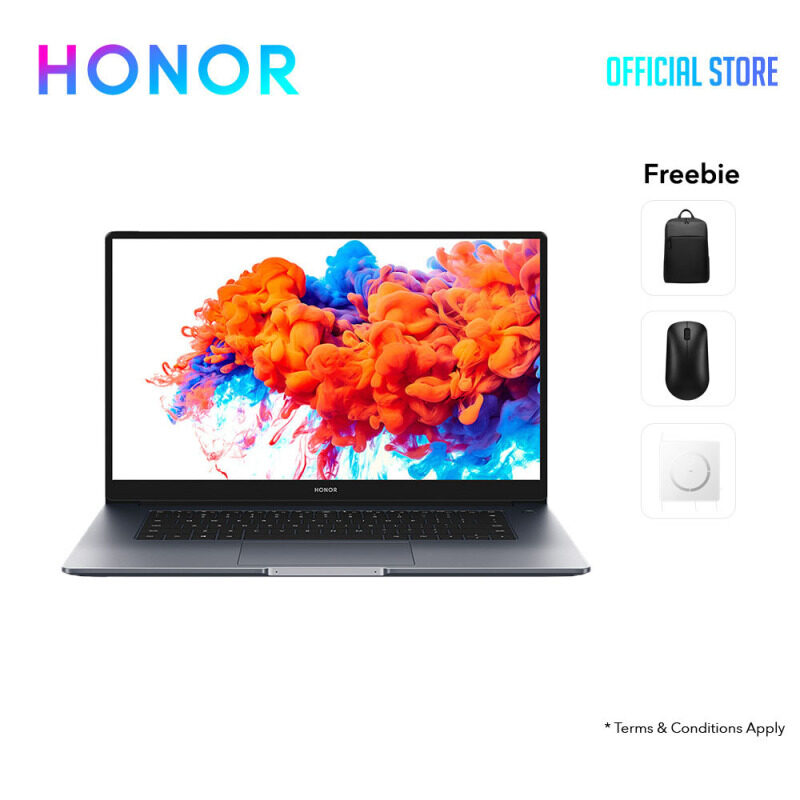 HONOR MagicBook 14 14IPS/RYZEN 5/VEGA 8/W10H/1.38kg/2Yrs Warranty carry in Malaysia
