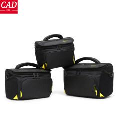 CAD Máy Ảnh DSLR Cầm Tay Túi Đeo Vai, Túi Đựng Máy Ảnh Kỹ Thuật Số, Túi Chụp Ảnh Ni Lông Chống Nước Cho Phụ Kiện Nikon D3100 D3200 D3300 D3400