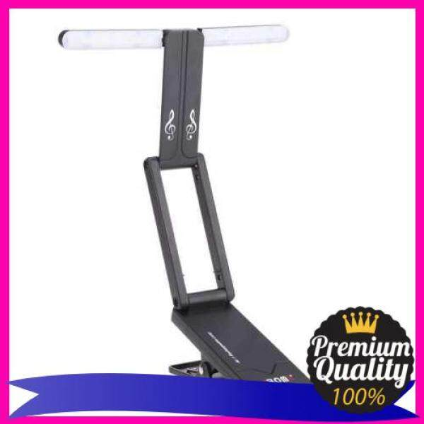 Aroma AL-1 Clip-on Rechargeable Music Stand Lamp for Piano LED Stage Light Universal Compact Portable USB Charge (Black) Malaysia