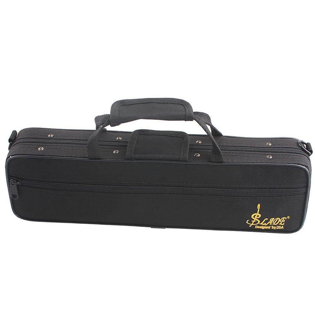 Allwin กล่องขลุ่ยกระเป๋ากีตาร์กล่องใส่กระเป๋าเป้สะพายหลังกันน้ำ 600d โฟมบุผ้าฝ้ายสายคล้อง By Allwin2015.