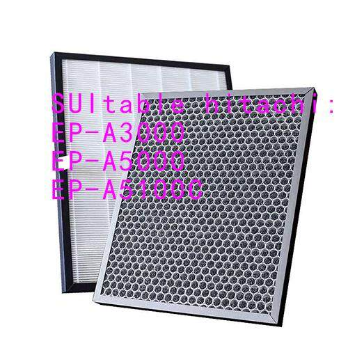 Bảng giá Thích Hợp Cho EP-A3000 A5000 A5100C Lọc Của Máy Lọc Không Khí Hitachi Để Loại Bỏ Formaldehyde PM2.5 Lõi Lọc Điện máy Pico