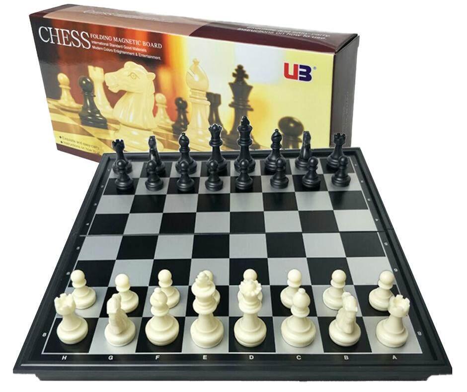 Folding Magnetic Board Chess Set