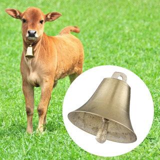 2 Chiếc Trang Trí Chống Thất Lạc Trang Trại Động Vật Cừu Chó Bò Bền Phụ Kiện Chăn Thả, Chuông Đồng Siêu To Hình Ngựa thumbnail