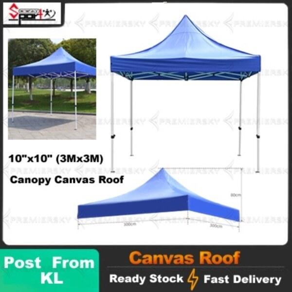 Spot 🚚10 x10  (3Mx3M) Canopy Canvas Roof 80 CM   Kanvas Kanopi   Kain Kanopi Khemah Pasar