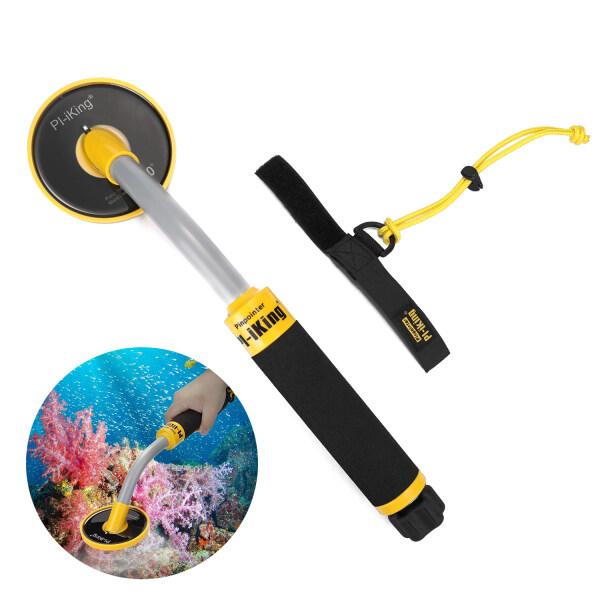 KKmoon Pi-Iking 750 30m Targeting Pinpointer Pulse Induction PI Underwater Metal Detector Waterproof Metal Finder L-ED Light Vibration Indication