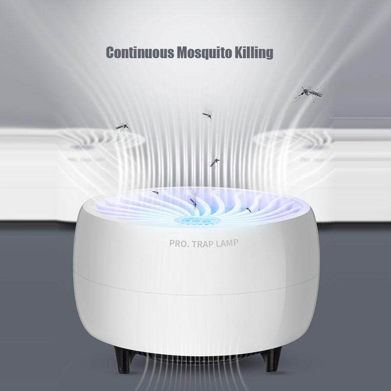 Mosquito lamp LED mosquito killer blue vortex UV 5W energy saving mosquito trap USB electric convenient silent night light without chemical indoor outdoor mosquito trap artifact.