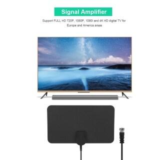 LAN-1071 Windyons ATSC DVB-T2 Ăng Ten TV Kỹ Thuật Số Trong Nhà 1080P 4K FULL HD Thông Dụng Dành Cho EU US thumbnail