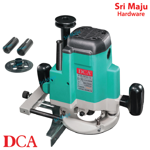 MAJU DCA AMR 02-12 Trimmer Router Machine Trimming Wood Mesin Router Perabot Kayu Wainscoting 1650W AMR02-12 AMR0212