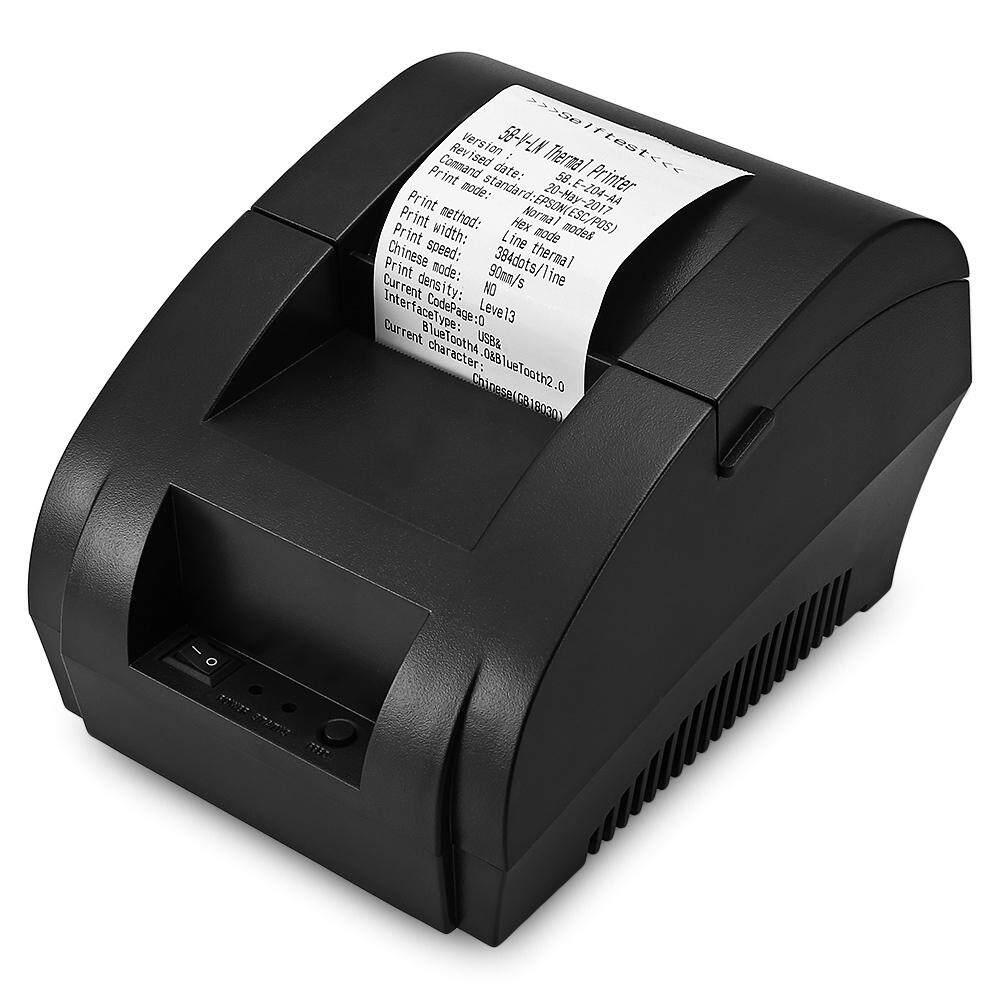 Zjiang ZJ-5890 K-Dalam Portable Printer Bluetooth Penerimaan Termal Mesin Karburator Tecumseh Android IOS