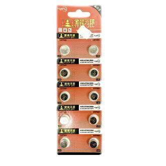 TIANQIU AG5 SR754SW LR754 LR48 193 GP93A 393 1.5V Button Alkaline Battery (10 Pieces) ED:2021