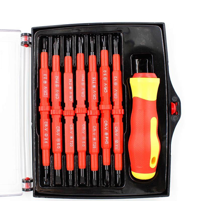 【COD】【ANY THREE FREE SHIPPING】14 in1 Magnetic Screwdriver Set Multi-Purpose Screw Driver For Family
