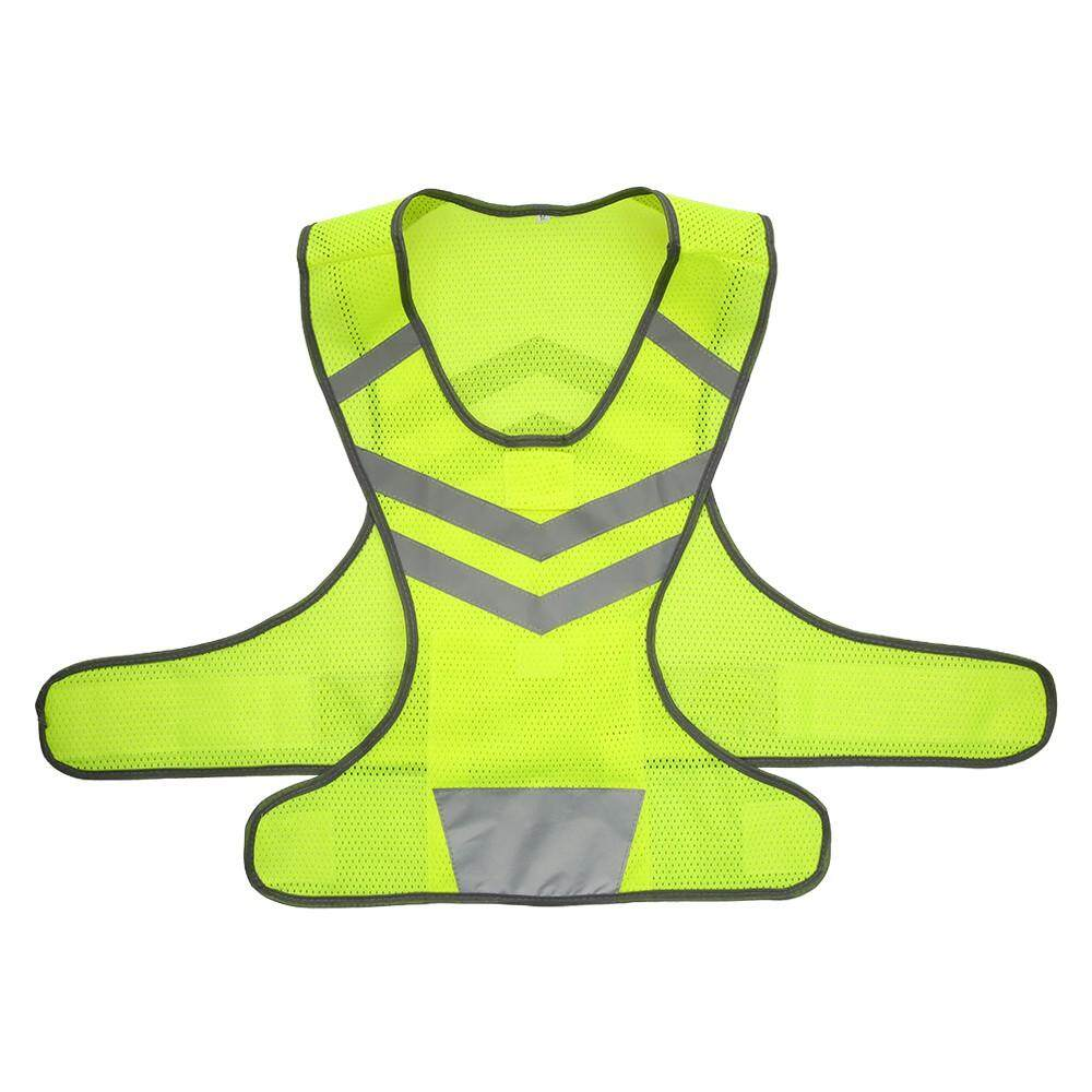 Outdoor Sports Running Reflective Vest Adjustable Lightweight Mesh Safety Gear For Women Men Jogging Cycling Walking By Huashangpai.
