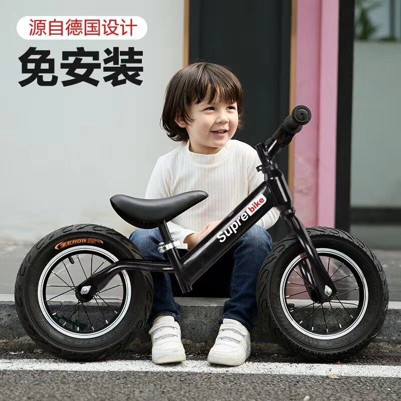 Light childrens balance car, no pedal bike, 1-6-year-old babys scooter, scooter, learning scooter Singapore